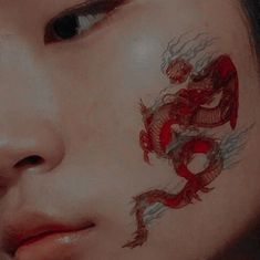 Tattoo dragon girl inspiration 59 Ideas You are in the right place about tattoo quotes unter Japanese Aesthetic, Red Aesthetic, Character Aesthetic, Aesthetic Makeup, Aesthetic Pictures, Umibe No Onnanoko, Art Visage, Dragon Girl, Princess Aesthetic