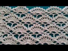 How to Crochet Fan Stitch / Crochet Patterns