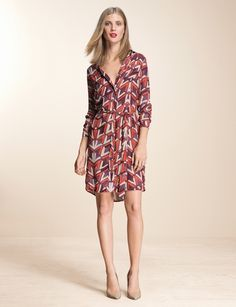 Top Look | THE LIMITED #OutbackRed #BatikPrintShirtdress