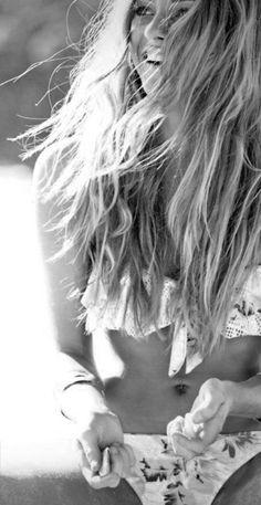 *<3* beach hair :)