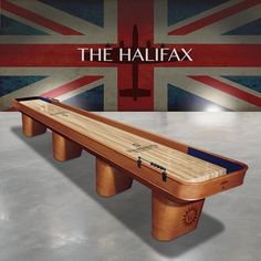 The Halifax Shuffleboard from The Games Room Company's selection of Shuffleboard Tables complete with 1 Yr Warranty and a White Glove Delivery. Air Hockey, Outdoor Furniture, Outdoor Decor, Game Room, New Homes, Tables, House, Inspiration, Home Decor