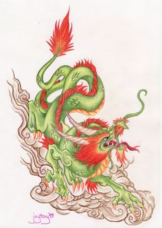Chinese Dragon by Joytoy.deviantart.com on @DeviantArt