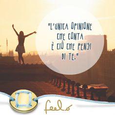 Sei il primo a dover credere in te stesso! Se non lo fai tu, chi altro potrà farlo? #Feelo #HandMade #TaylorMade #MadeInItaly