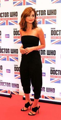 "Jenna Louise Coleman – ""Doctor Who"" World Tour in Rio de Janeiro"