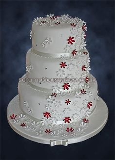 .I would love to have a cake like this...but I wouldn't want to eat it!!  ;-)