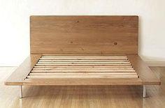 Muir Platform Bed In Natural: Remodelista model for a DIY;