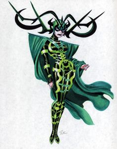 Hela by Bruce Timm