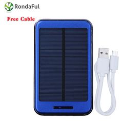 12000mah Waterproof solar power bank dual usb external battery solar charger powerbank Metal Shell for all mobile phone 2016 New   #PortablePhoneCharger