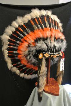 Native American Headdress Thunderbird by Shadowgifts on Etsy, $450.00