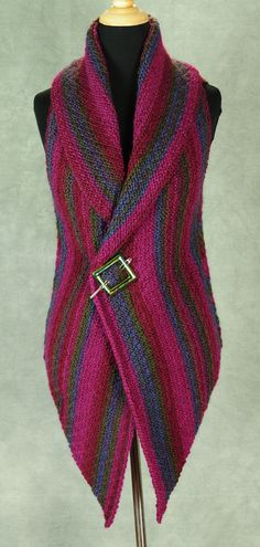 LOVE!  PATTERNFISH - The Prudence Crowley Vest  Pattern is $8 It is a perfect beginner knit (easy) and is beautiful!