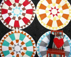 quilt by Delia Hauser (fellow CMU dramat)