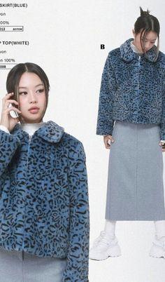 2000s Fashion, Fashion Outfits, Womens Fashion, Poses References, Fashion Catalogue, Photomontage, Aesthetic Clothes, Blue Aesthetic, Korean Fashion