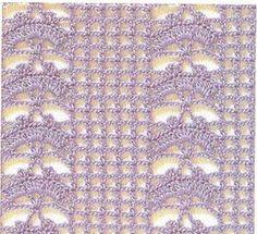 20 Patrones de Puntos ~ Puntadas Crochet / Calados | Patrones para Crochet