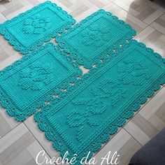 Crochet Woman, Diy Crochet, Crochet Tablecloth Pattern, Crochet Patterns, Crochet Carpet, Crochet Table Runner, Crochet Kitchen, Doilies, Rugs On Carpet