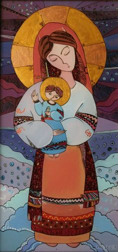 Богородиця - Курий-Максымив Наталя