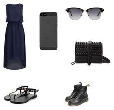 Untitled #2 by alexandragabriela2 on Polyvore featuring polyvore, fashion, style, SELECTED and Dr. Martens