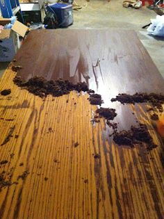the best paint stripper ever. who invented veneer oak edging? Thanks! Part two of our wooden countertop reno. 4 Gigi