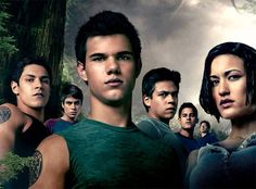 Eclipse. Sam Uley, Quil Ateara V, Embry Call, Paul Lahote, Jared Cameron, Leah Clearwater, and Seth Clearwater. (Wallpaper)