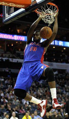 Greg Monroe---Detroit Pistons  Position: Center  Age: 21