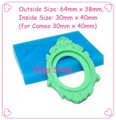 OYL014 Classic Frame Silicone Mold   Fimo Polymer Clay Sugarcraft Cake Decorating Miniature Food Molds, Jewelry Mold Food Safe on Aliexpress.com | Alibaba Group