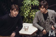 Kim Woo Bin & Lee Byung Hun - Magazine M vol. 193