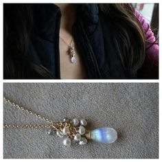 Atelier Gaby Marcos - Moonstone and Pearl Necklace
