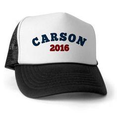 ben carson for president 2016 Trucker Hat on CafePress.com