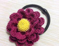 Tina's handicraft : Elegant Flower Hair Band