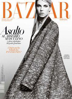 Magazine: Harper's Bazaar España  Published: November 2011  Cover Model: Angela Lindvall