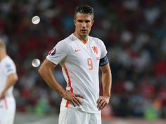 Netherlands reacts to loss against Turkey that leaves Euro 2016 hopes in tatters, Robin van Persie describes loss as 'terrible, really terrible' - International - Football - The Independent Van Persie, Football Images, International Football, Euro, Robin Van, Polo Ralph Lauren, Timeline, Mens Tops, Turkey
