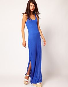 Warehouse | Warehouse Column Maxi Dress at ASOS