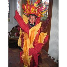Les quatre éléments: le feu - Déguisement à faire soi même sur ecoBricolos.com ( Fête & Evènement )