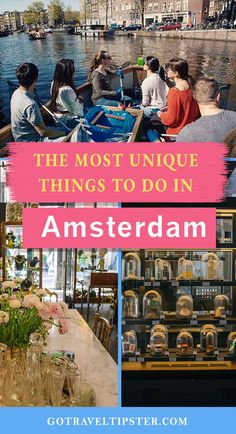 The weird bucket list of things to do in Amsterdam is the best way to explore one of Europe's great capitals.  Check out cool Amsterdam, Netherlands that lays beyond well known attractions such as Anne Frank House and Van Gogh Museum