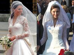 NY Daily News:  Comparison of the Duchess of Cambridge's wedding dress (2011) to that of Princess Isabella de Ligne (2009)