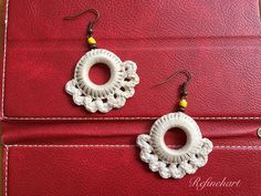 S$19.90; Refinehart's Collection: Bohemian Style Crochet Earrings. Add a traditional yet modern and sophisticated touch to your overall outlook.
