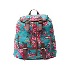 Shop for Floral Fashion Backpack in Teal Brown at Journeys Shoes. Shop today for the hottest brands in mens shoes and womens shoes at Journeys.com.Floral-chic fashion pack featuring a printed canvas exterior with faux leather trim, front cargo pocket, and flap closure with pull tie fastening. Available for shipment in August; pre-order yours today!