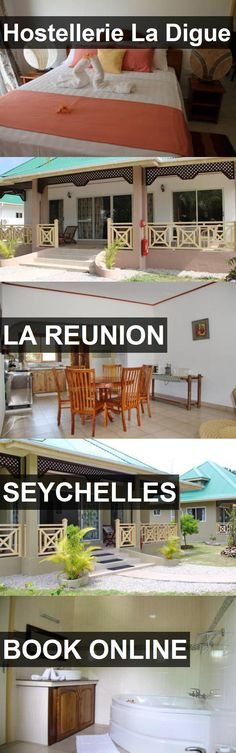 Hostellerie La Digue in La Reunion, Seychelles. For more information, photos, reviews and best prices please follow the link. #Seychelles #LaReunion #travel #vacation #hostel