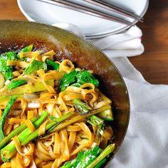 vegan/vegetarian Pad See Ew | Recipe Tin Eats