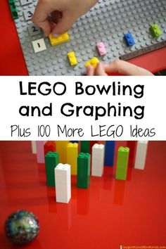LEGO Bowling and Graphing Plus 100 More LEGO Ideas