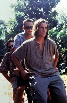 David Conrad, Vince Vaughn and Joaquin Phoenix in Return To Paradise (1998)