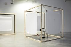 Full-scale experiments with the dialogue between visual and aural boundaries of space. Visual and aural boundaries are different means of enclosing a space which implies that our visual and aural experience of size is not consistent. The space...