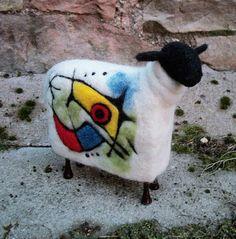 Miro, Miro on the wool... needle felted - SShaw