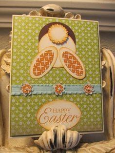 Karen's Angelic Impressions: Springtime Projects for Stamp Class March 5th