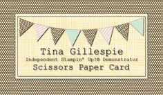 Scissors Paper Card- SU stamping blog