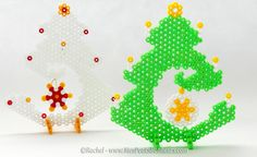 Sapin de Noël en perles Hama à poser – Nouveau Modèle