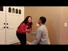 Such a cute proposal. They sing Love is an Open Door together then he says something crazy. AHHHHHHH