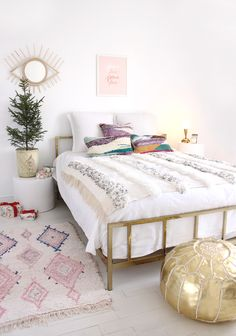 Modern Boho bedroom by Baba Souk