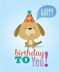 Happy Birthday by Amy Cartwright Happy Birthday Kids, Happy Birthday Flower, Happy Birthday Messages, Happy Birthday Quotes, Happy Birthday Images, Happy Birthday Greetings, Birthday Pictures, Birthday Greeting Cards, Happy Birthday Animals