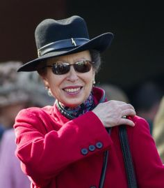 Princess Anne..Gold Cup Day at the Cheltenham Festival. March 14, 2014