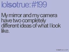 Compare The Mirror To The Camera
